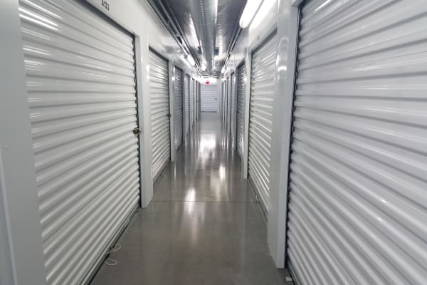 Temperature-controlled units at Breezy Hill Self Storage in Graniteville, South Carolina