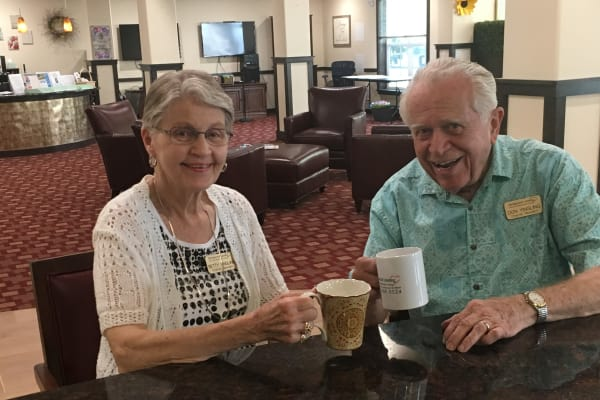 Don and Betty Yingling at Camellia Gardens Gracious Retirement Living in Maynard, Massachusetts