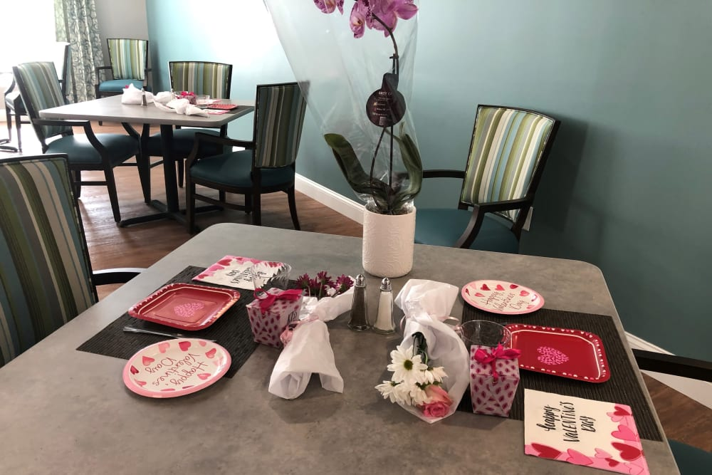 Valentine's Day celebration at Keystone Place at Wooster Heights