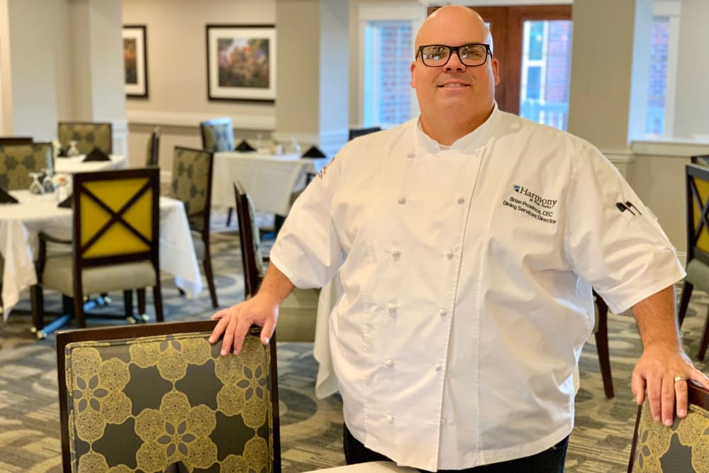 Delicious meals prepared by a chef at Harmony at Enterprise in Bowie, Maryland