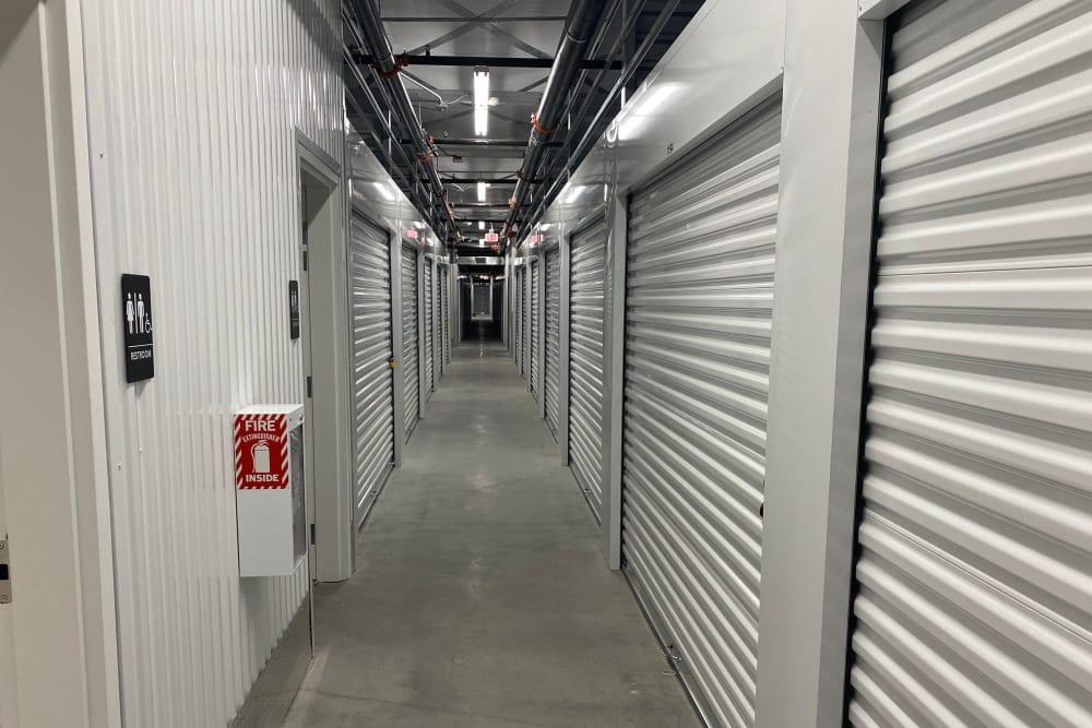 Interior storage units at StorageOne Horizon & Sandy Ridge in Henderson, Nevada