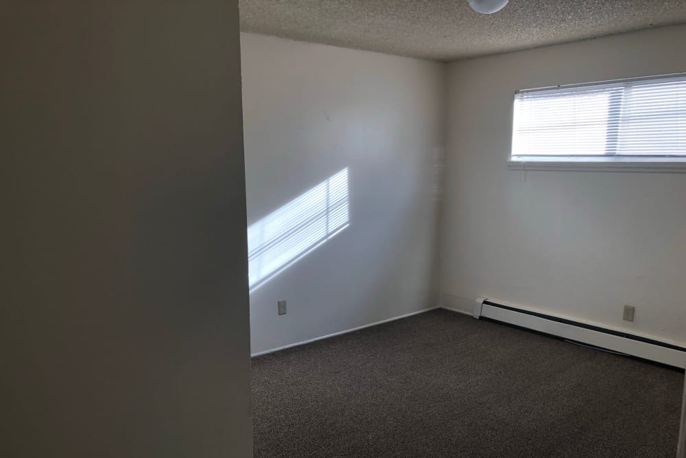 Bedroom layout at Tiffany Square in Lakewood, Colorado