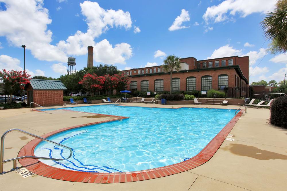 Swimming pool at Lofts at Riverwalk in Columbus, Georgia