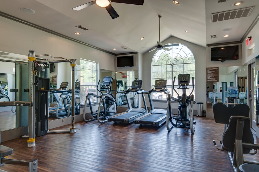 Stay healthy in the Legacy at Meridian fitness center in Durham
