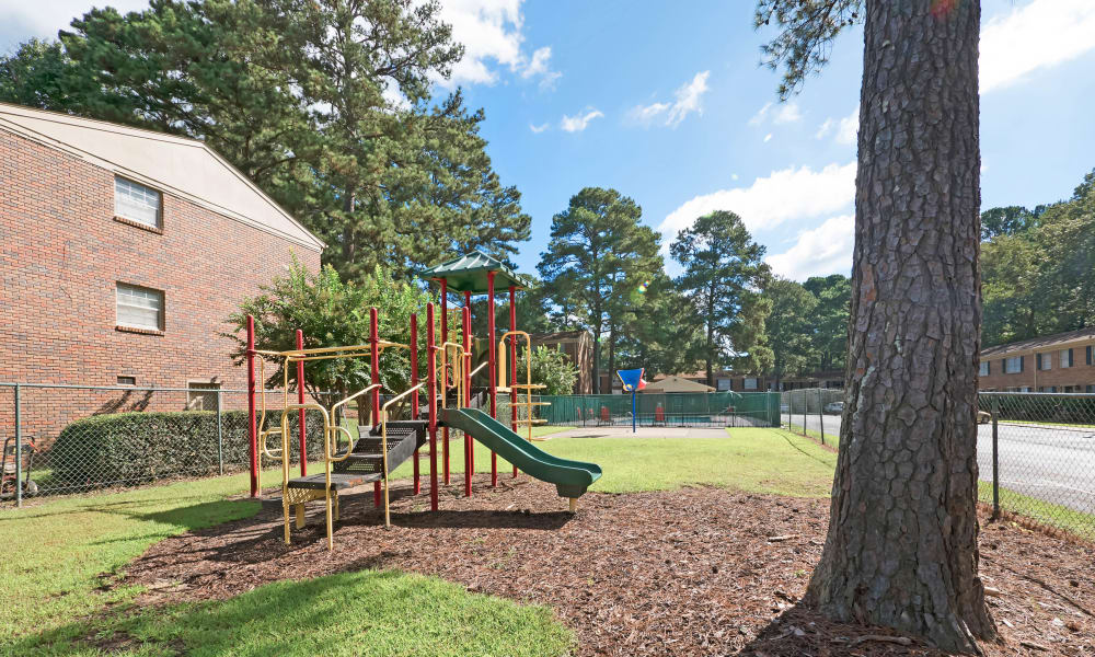 Play area at Heritage Pointe in Rome, Georgia
