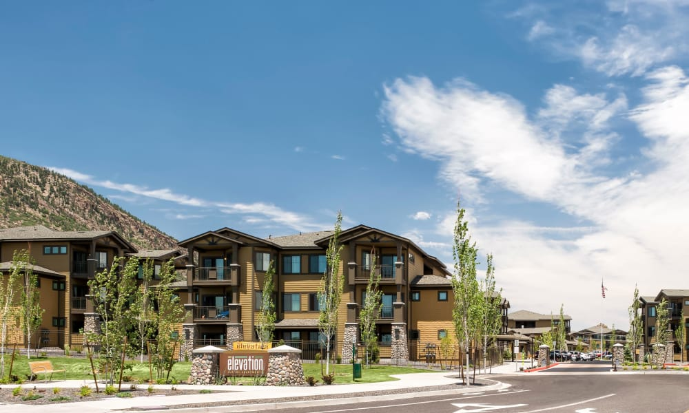 Community view at Elevation Apartments