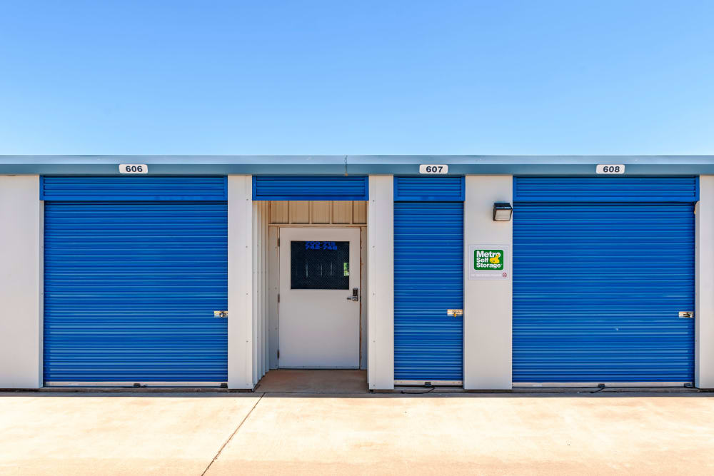 Outdoor Units at Metro Self Storage in Lubbock, Texas