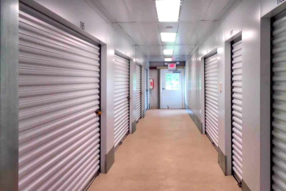 Indoor units at Prime Storage in Danbury, Connecticut