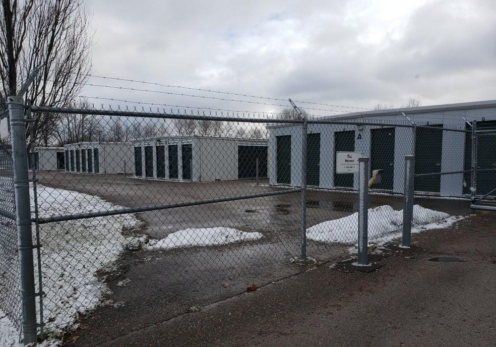 Apple Self Storage - Midland in Midland, Ontario, is securely gated