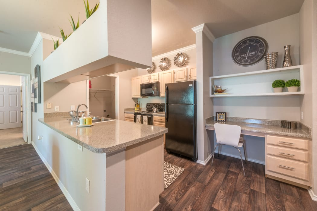 23Hundred at Ridgeview offers a luxury kitchen in Plano, Texas