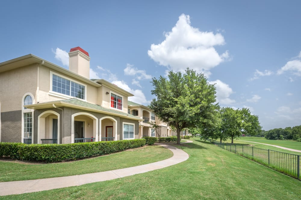 Exterior view of the 23Hundred at Ridgeview community in Plano, Texas
