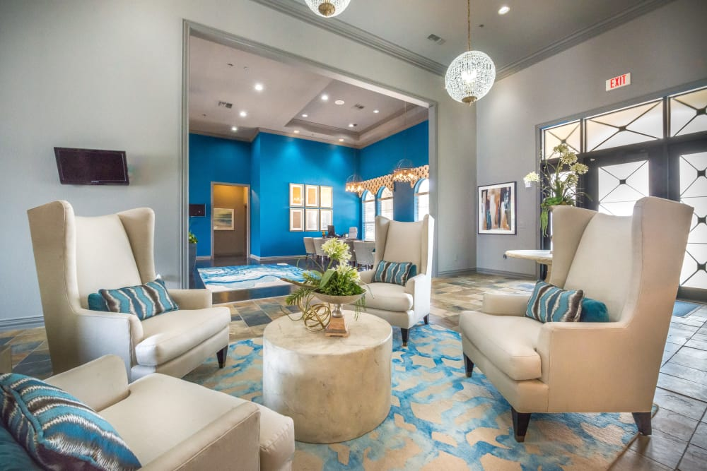 Interior of the 23Hundred at Ridgeview's clubhouse in Plano, Texas