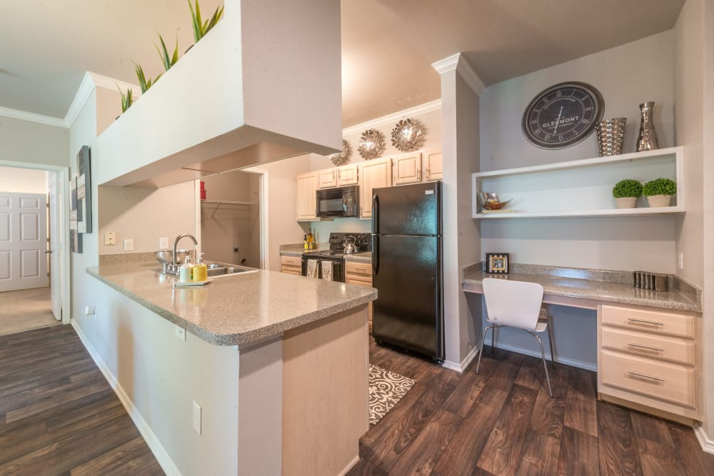 Luxury kitchen at 23Hundred at Ridgeview in Plano, Texas