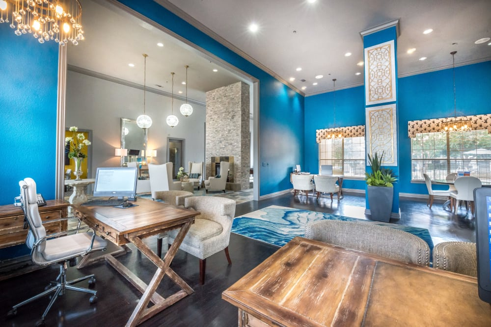 Luxury clubhouse at 23Hundred at Ridgeview in Plano, Texas