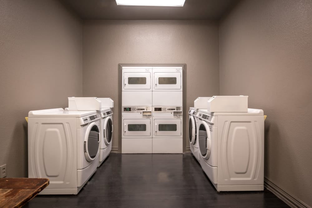 Laundry center at 23Hundred at Ridgeview in Plano, Texas