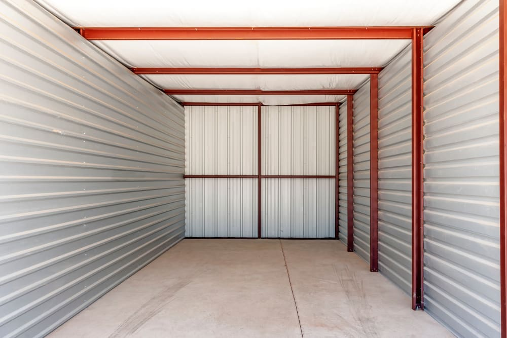 Huge storage unit at Metro Self Storage in Lubbock, Texas