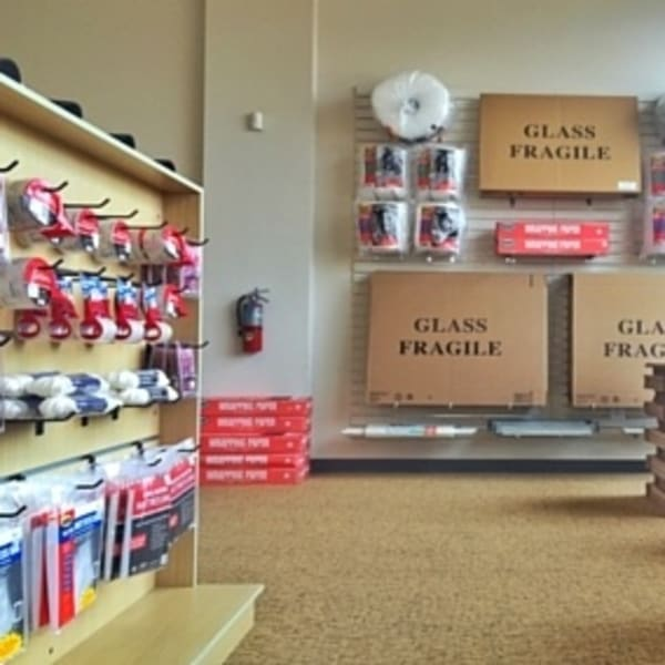 Packing supplies sold at StorQuest Self Storage in Los Angeles, California