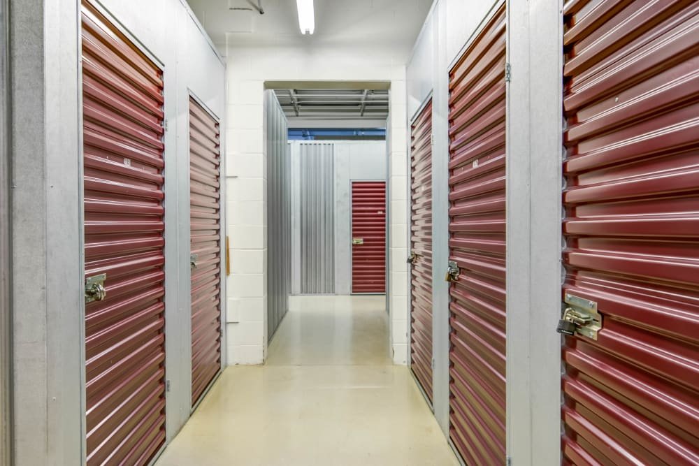 Indoor units at Metro Self Storage in Eden Prairie, Minnesota