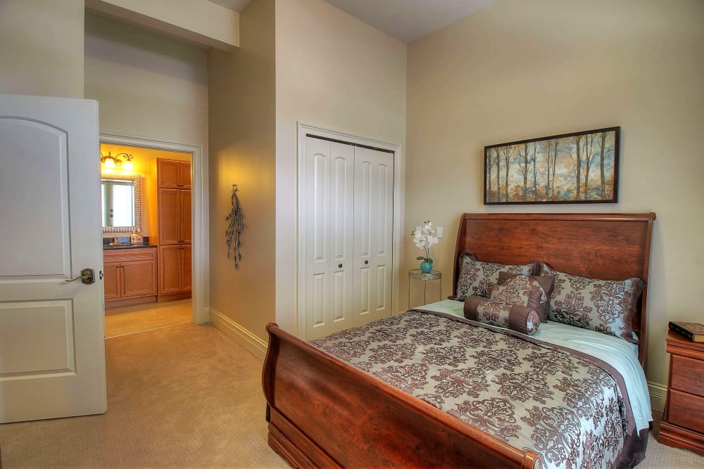 Our senior apartments at Tranquility Estates in Grand Blanc, Michigan offer a bedroom