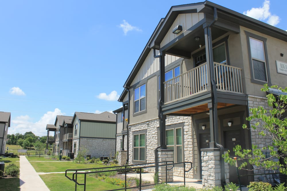neighborhood view at Springs at Round Rock in Round Rock, TX