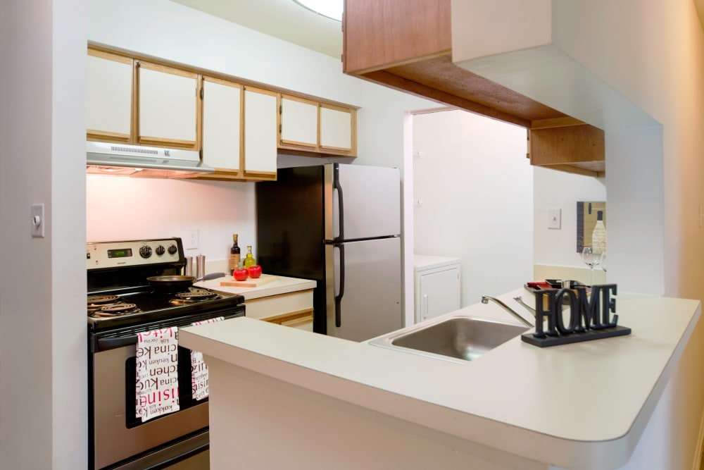 Beautiful kitchen at apartments in Midlothian, Virginia