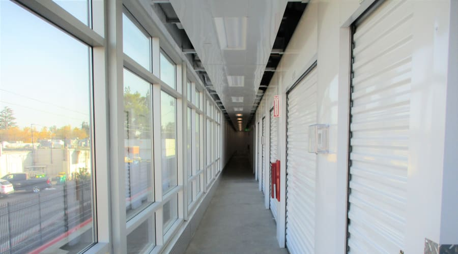 Indoor units at First Rate Storage in Stockton, California