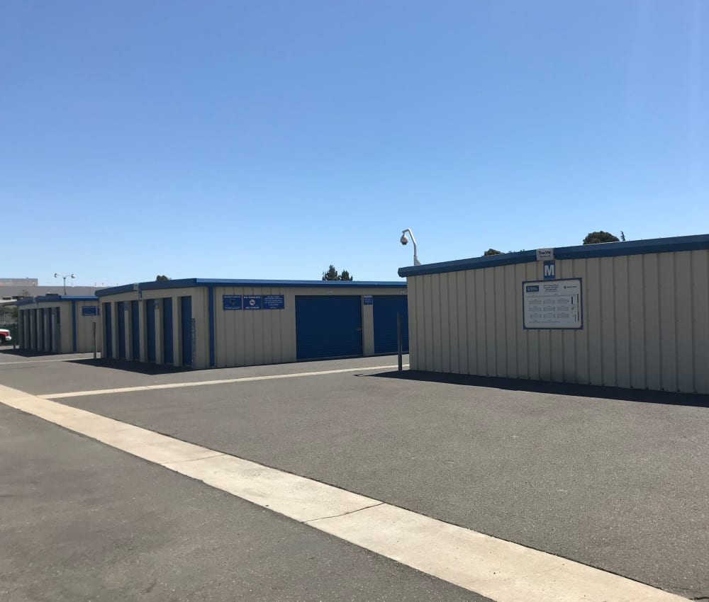 Storage Features at Storage Solutions in Fremont, California