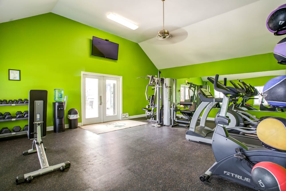 Grand Biscayne offers a modern fitness center in Biloxi, Mississippi