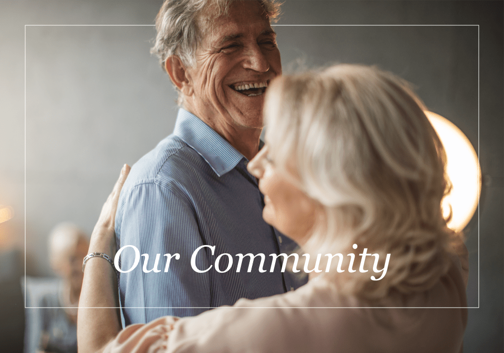 Our community at Wheatfields Senior Living Community in Clovis, New Mexico