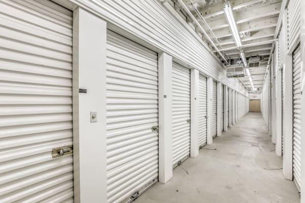 Climate-controlled storage units at Crown Self Storage in N Las Vegas, Nevada