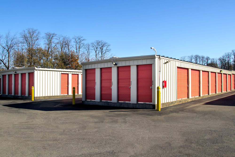 Drive-up units at Prime Storage in Schenectady, NY