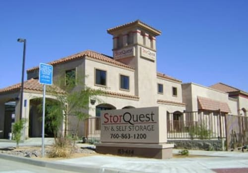 StorQuest Self Storage in Indio, California