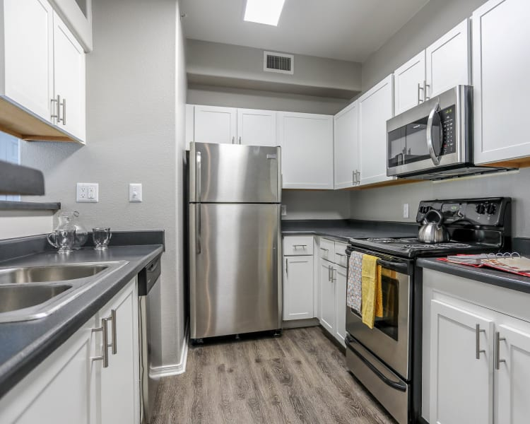 Click to see our floor plans at Promenade at Hunter's Glen Apartments in Thornton, Colorado