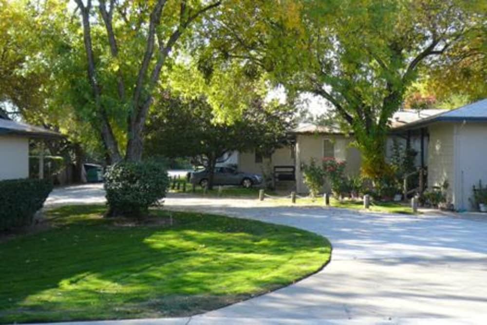 Driveway at Walnut Avenue Apartments in Sacramento, California