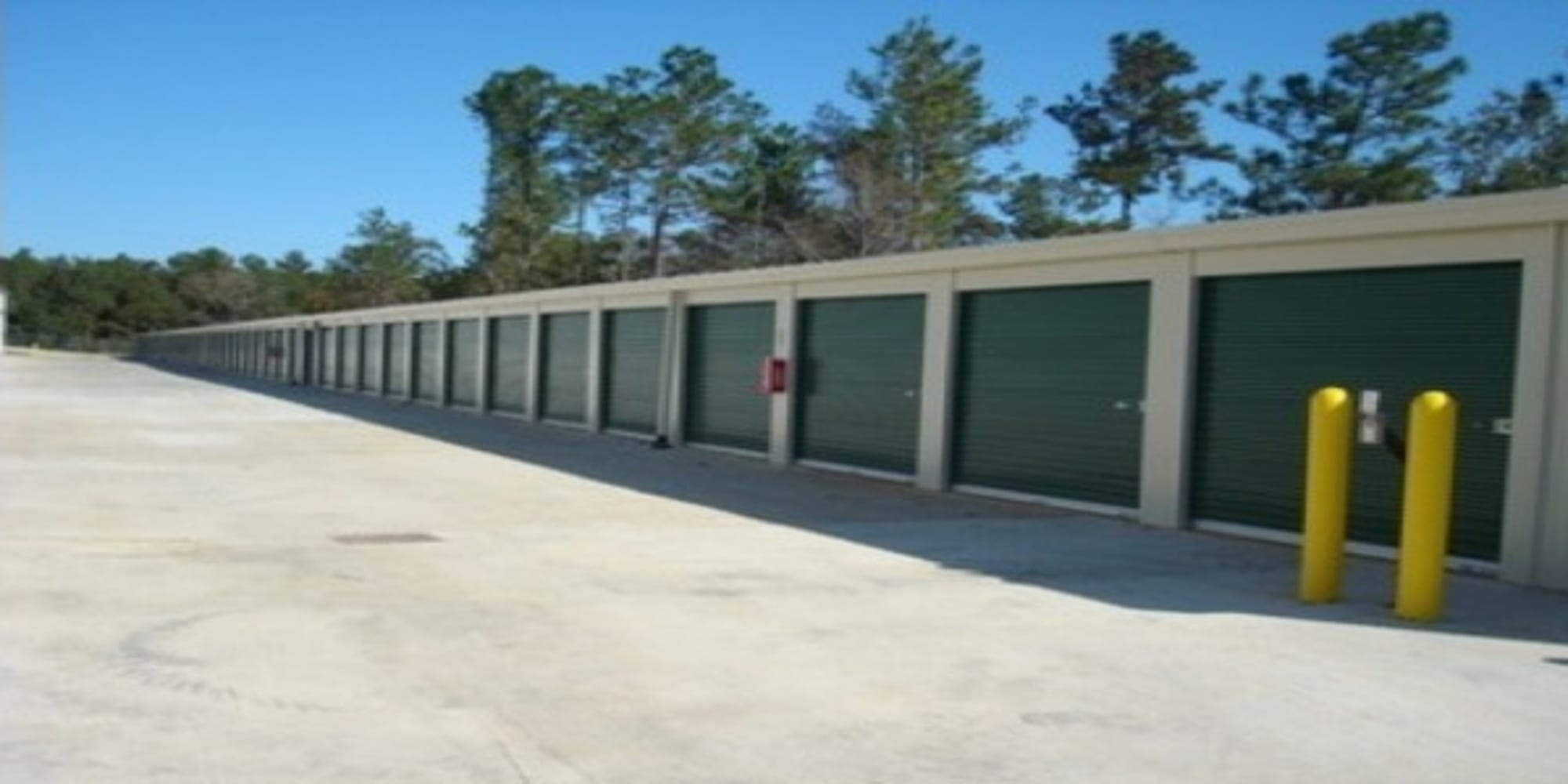 Temperature-controlled units at A Storage of Daphne in Daphne, Alabama