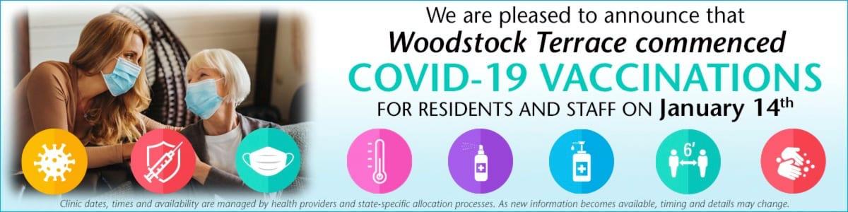 Woodstock Terrace COVID Vaccine Woodstock, VT