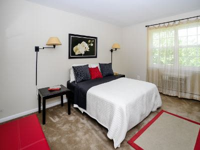 Beautiful bedroom at apartments in Maple Shade, New Jersey