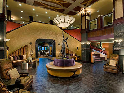 The lobby at Avenir Senior Living in Scottsdale, Arizona.