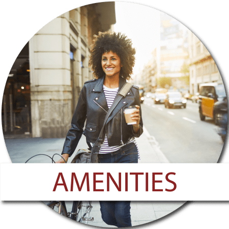 Learn more about the amenities we offer at Diamond at Prospect Apartments