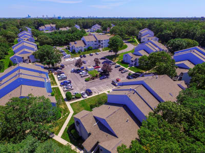 Neighborhood panoramic view at The Landings Apartment Homes, in Absecon