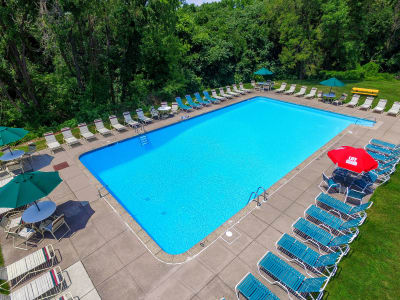 Lakewood Hills Apartments & Townhomes offers a swimming pool in Harrisburg, PA