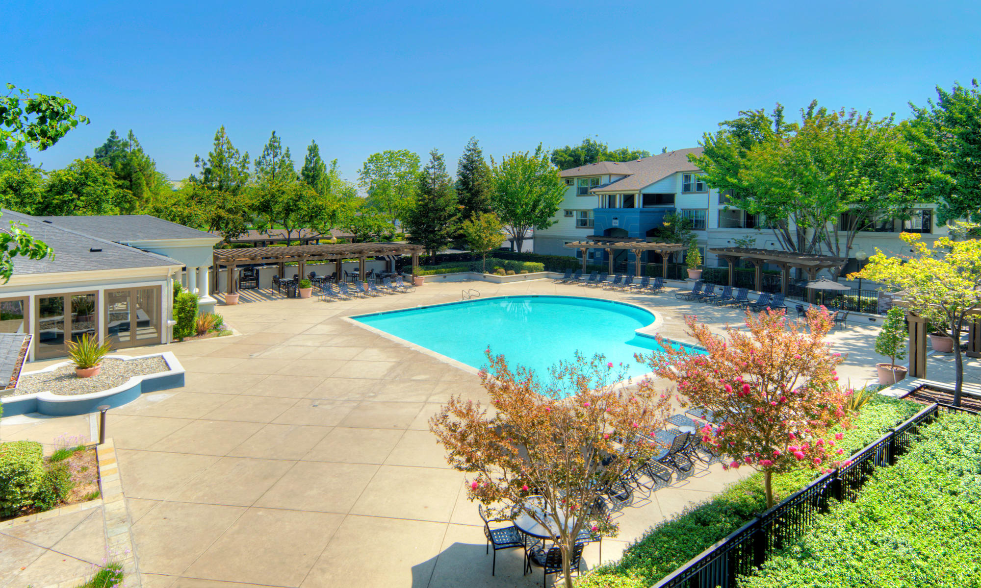 Floor plans as Park Hacienda Apartments in Pleasanton, California