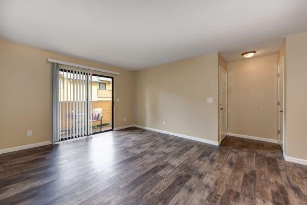 Spacious apartments interiors at Folsom Gateway in Orangevale, California
