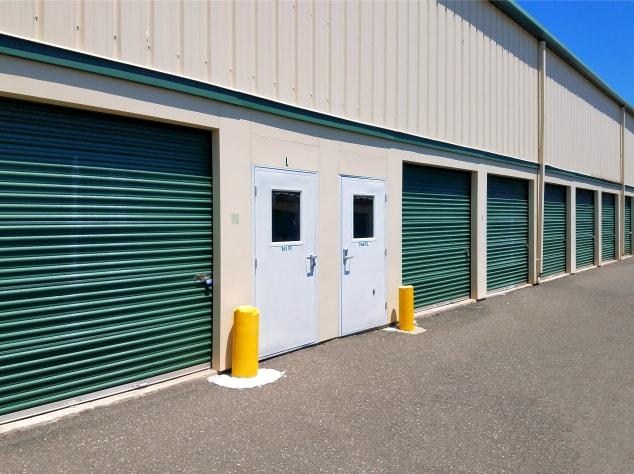 Outdoor storage units at Prime Storage in Centereach, New York