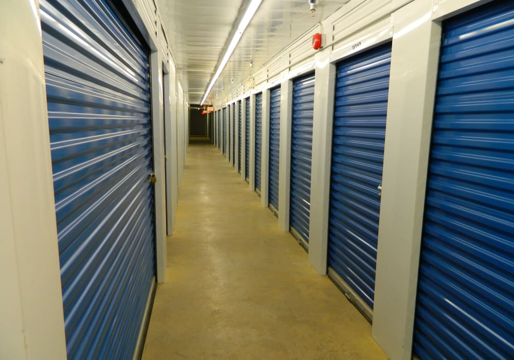 Temperature-controlled interior units at Apple Self Storage - Fredericton in Fredericton, New Brunswick