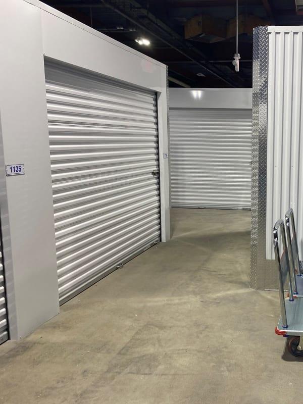 Large climate-controlled storage units at Devon Self Storage in Cincinnati, Ohio