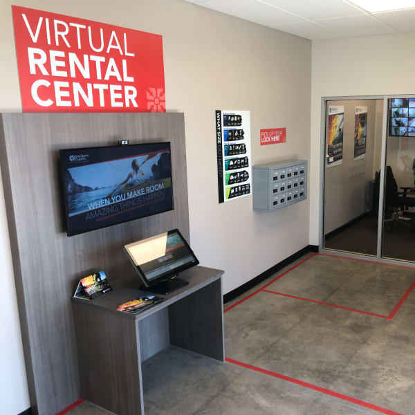 The virtual renting center at StorQuest Express - Self Service Storage in Sonora, California