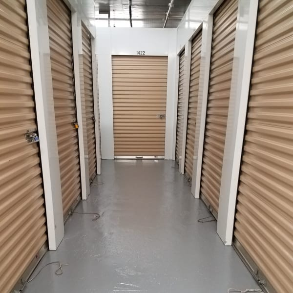 Climate-controlled indoor units at StorQuest Self Storage in New Haven, Connecticut