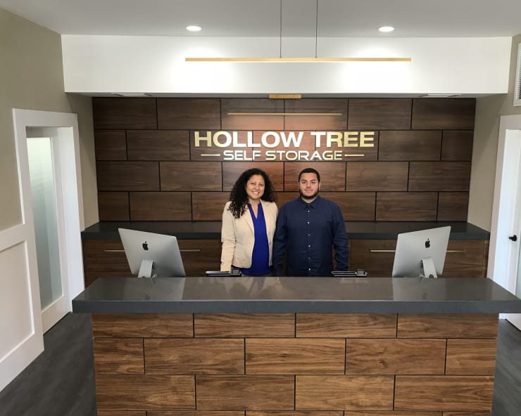 Managers at Hollow Tree Self Storage in Darien, Connecticut