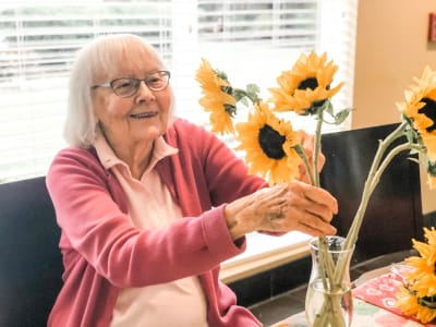 Friends at Bayberry Commons Assisted Living and Memory Care.